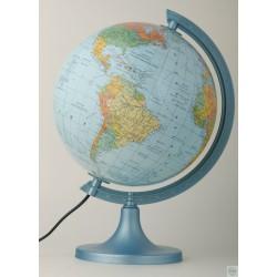 Globus podświetlany polityczno- fizyczny  250
