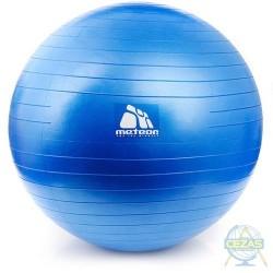 Piłka fitness do ćwiczeń 65 cm z pompką
