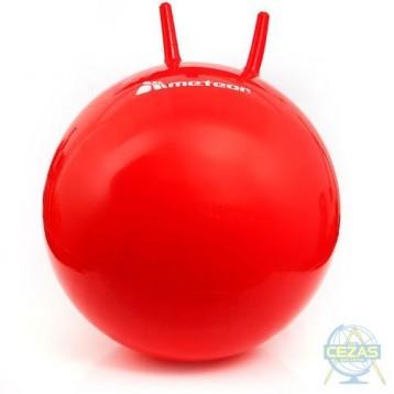 Piłka skacząc z rogami 55 cm Meteor