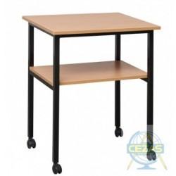 Stół pod rzutnik pisma prosty