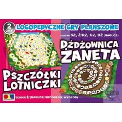Gra Pszczółki Lotniczki- Dżdżownica Żaneta
