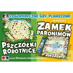 Gra Pszczółki Robotnice- Zamek Paronimów
