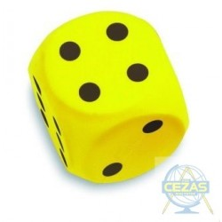 Duża kostka żółta