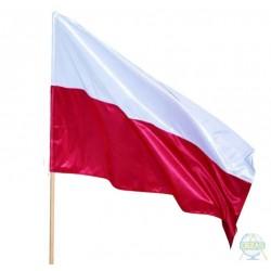 Flaga Polski na drzewiec 150x90