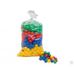 Worek piłek średnica 7 cm, mix kolorów