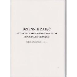Dziennik zajęć dydaktyczno-wyrównawczych i specjalistycznych