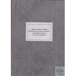 Księga ewidencji osób przystępujących do egzaminu kwalifikacyjnego na tytuł zawodowych