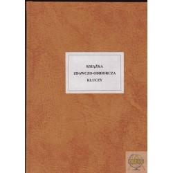 Książka zdawczo- odbiorcza kluczy