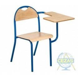 Krzesło LOLEK z pulpitem stałym