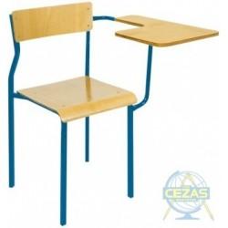 Krzesło z pulpitem stałym