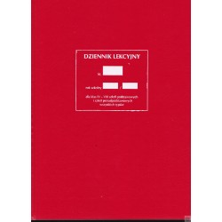Dziennik lekcyjny dla klas IV-VI I/3