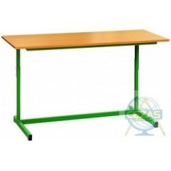 Stół szkolny regulowany L