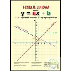 Plansza Funkcja liniowa/V